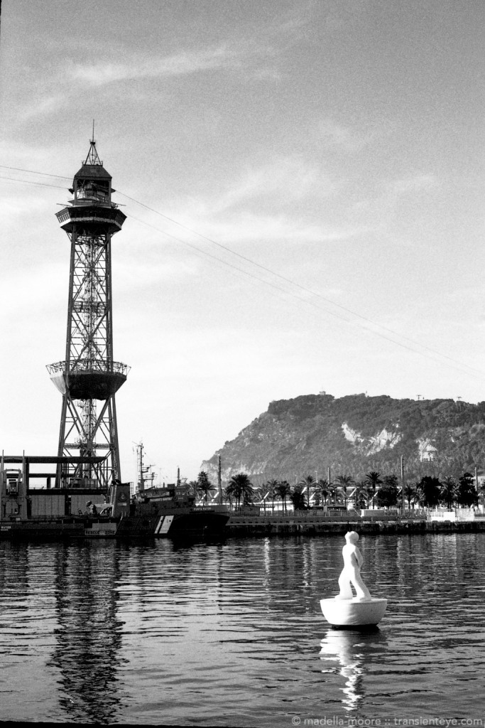 Port Vell, Barcelona. Shot with a FED 5b Rangefinder Camera.