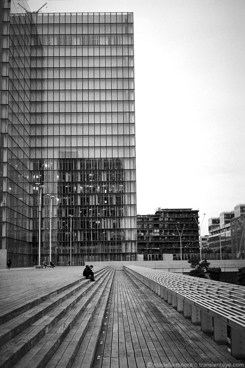 Bibliothèque nationale de France, shot on Ilford HP5+.