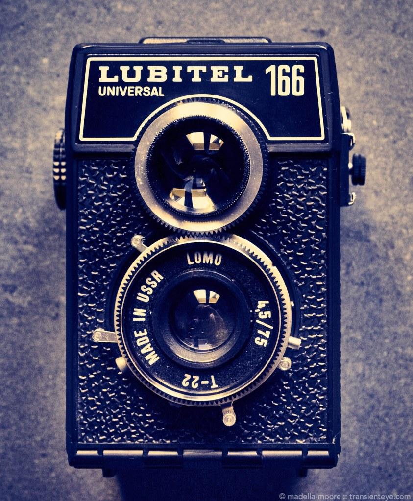 The Lubitel 166 Universal Camera.