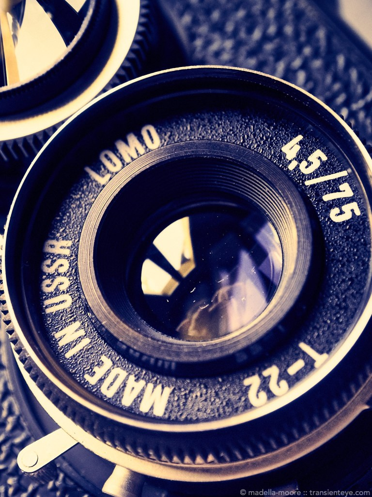 The Lubitel 166 Lens: Made in the USSR.