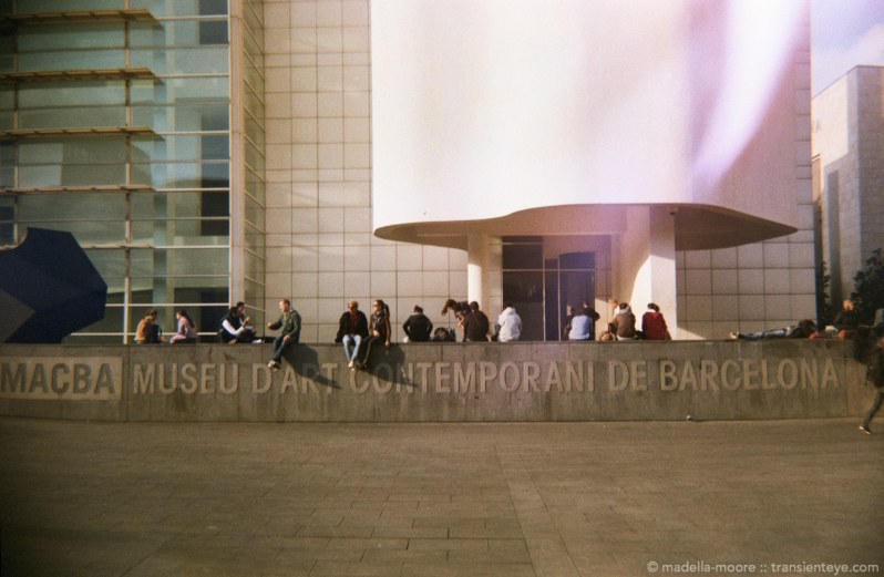 Photax IV Test Shots - the MACBA, Barcelona.