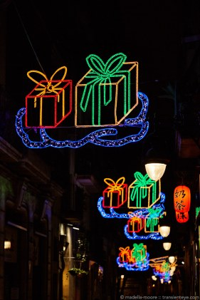 Barcelona Christmas Illuminations 2015