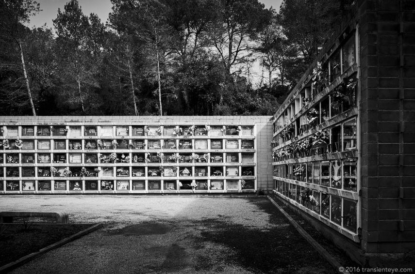 Cementerio de Collserola, Barcelona, España