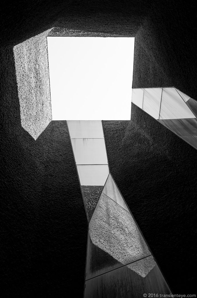 Broken Symmetry - Ricoh GR II - Black and White