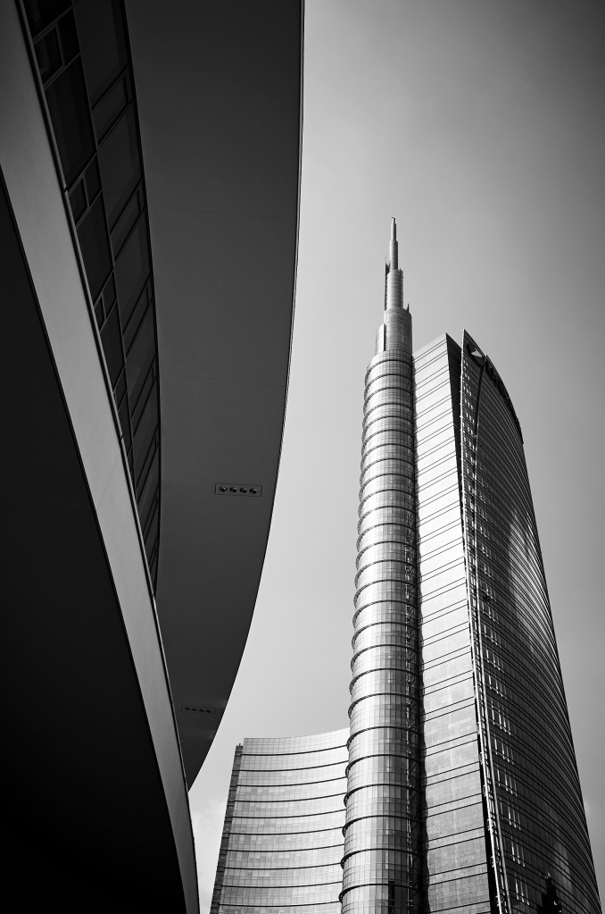 High Rise - Architectural Images from around Piazza Gae Aulenti, Milan.