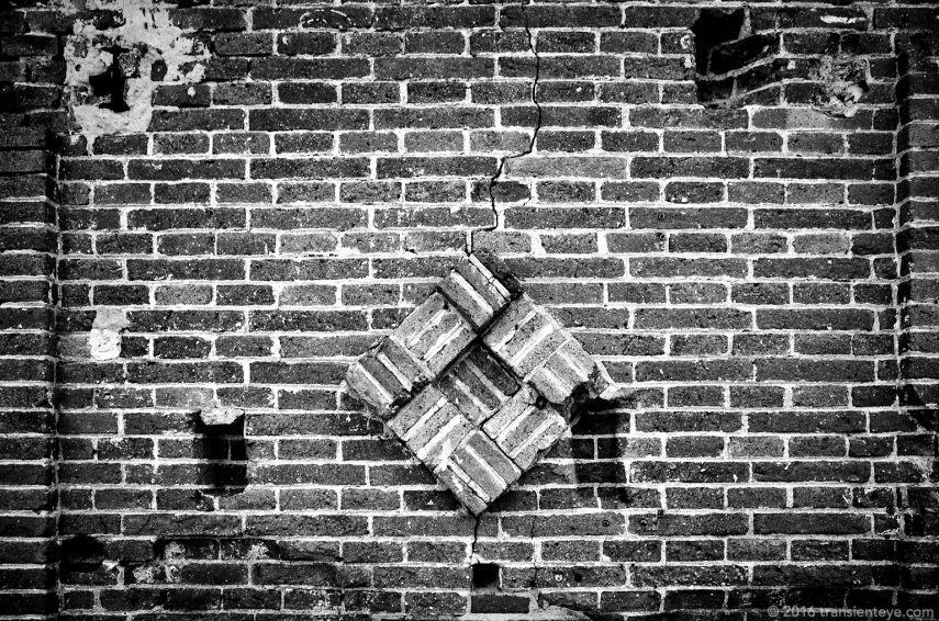 Chimney brick, Poble Nou, Barcelona.