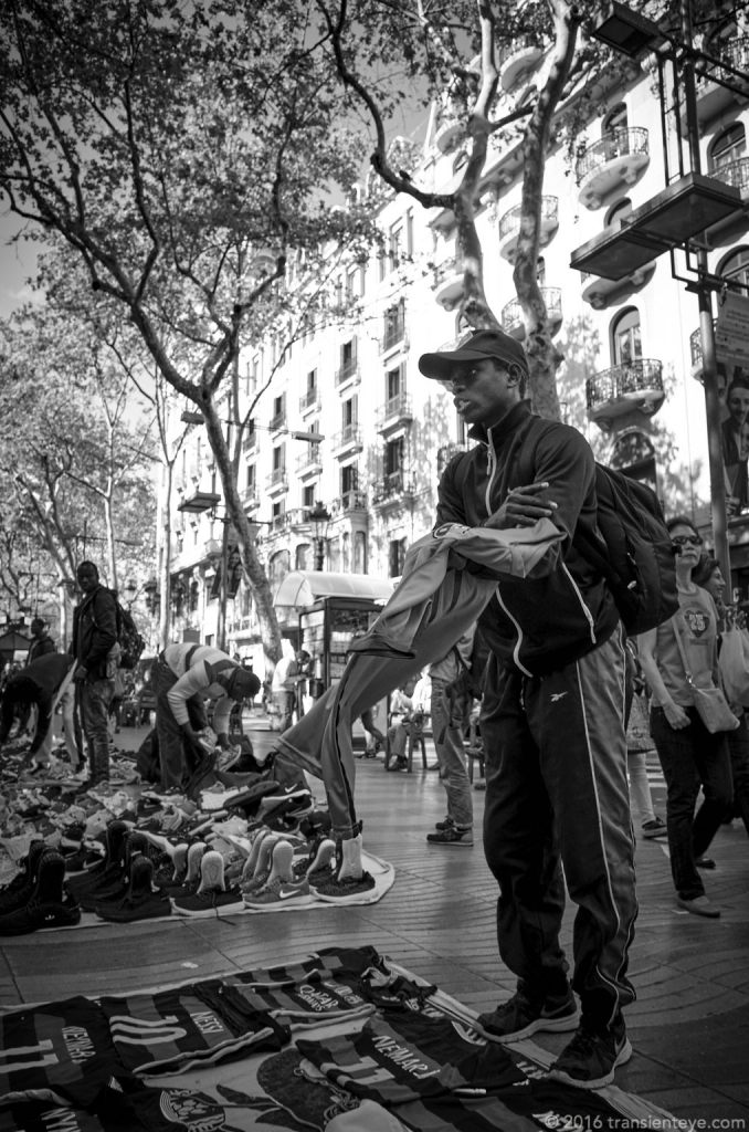 Barcelona Street Photography - Ricoh GR II - Black and White