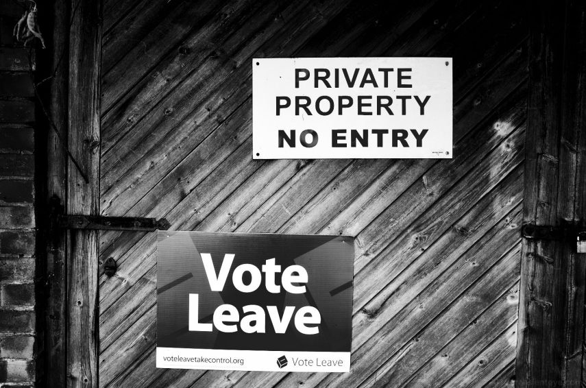 Brexit: Vote Leave and Keep Out Posters
