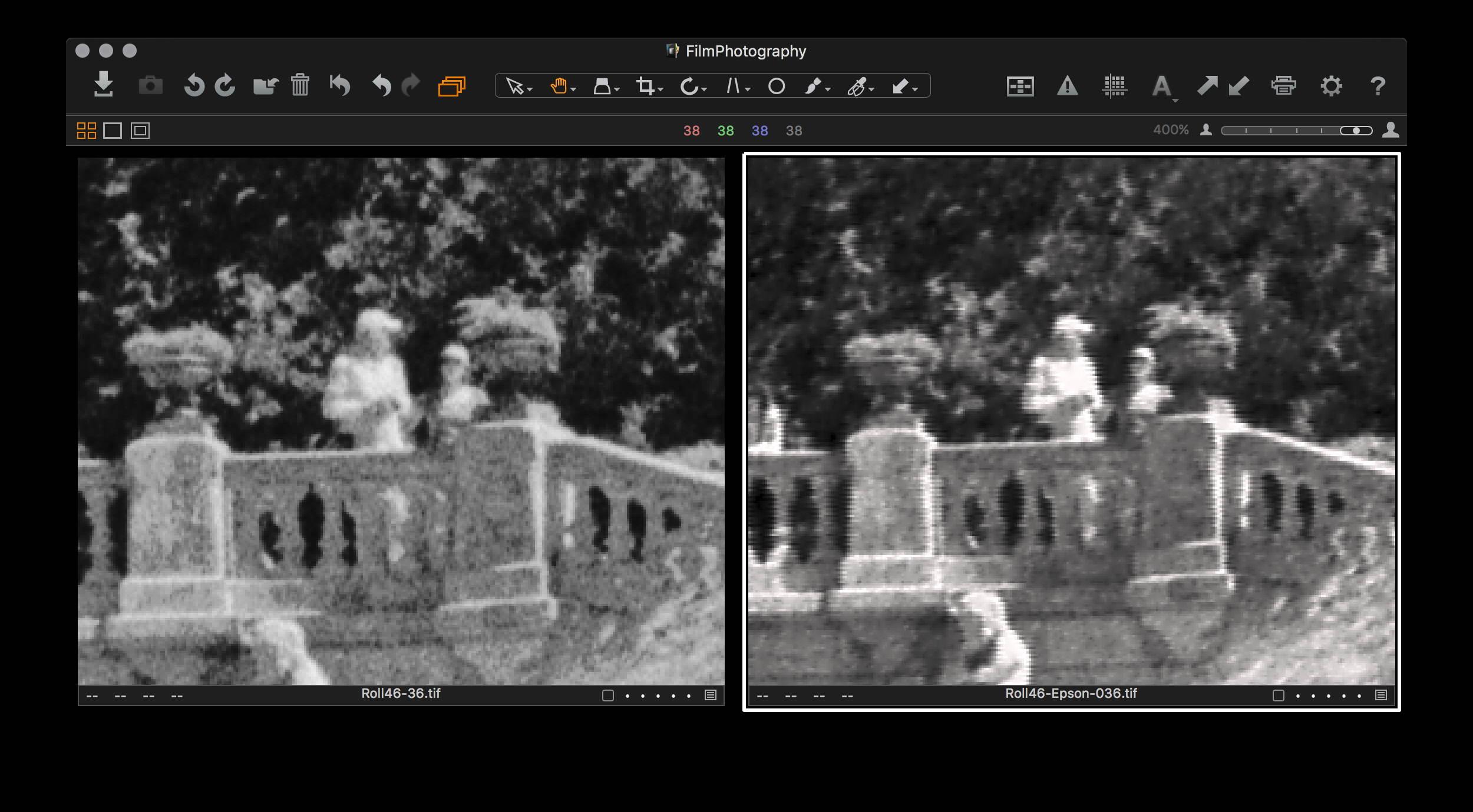 Epson v850 scanning artefacts? [Archive] - Rangefinderforum com