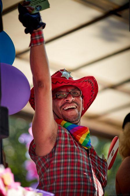 Pride Barcelona 2016 - Cowboy Portrait
