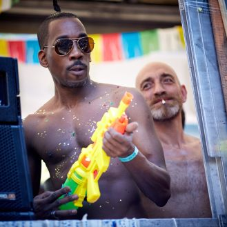 Pride Barcelona 2016 - Two Men