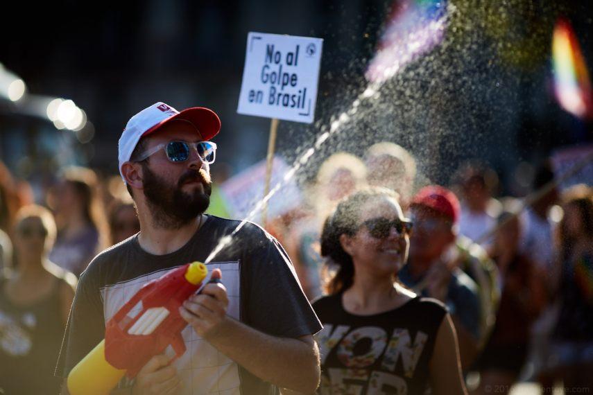Pride Barcelona 2016 - Water Spray