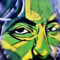 Street and Street-Art film photographs taken with a modified 50mmlens