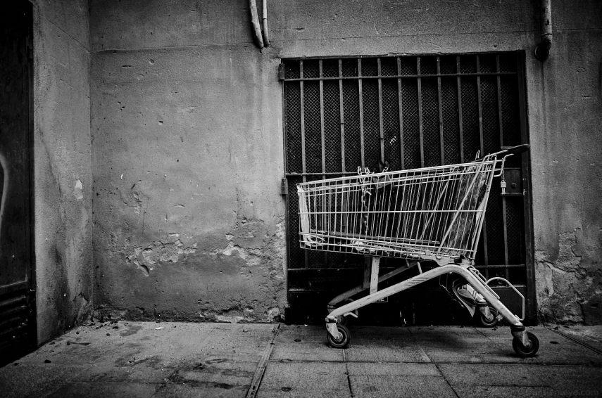 Barcelona Shopping Trolley