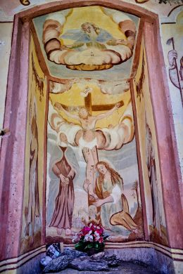 Catholic Images from the Northern Italian Alps