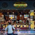 Shoppers at the Mercat de Sant Josep (La Boqueria),Barcelona