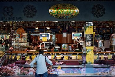 Shoppers at the Mercat de Sant Josep (La Boqueria), Barcelona