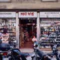 Tourist shop, Las Ramblas,Barcelona.