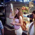 Tourists, La Boqueria,Barcelona.