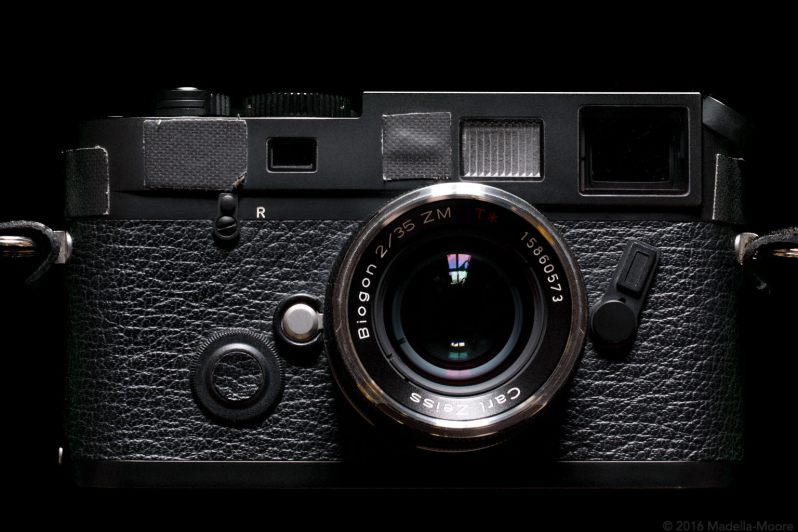 The Leica M7 - Front View