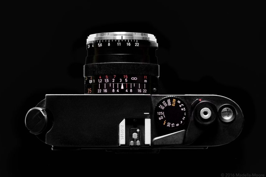 The Leica M7 - Top View