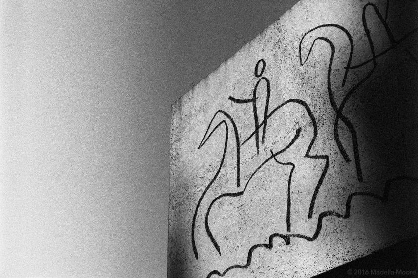 Picasso Wall, Pal de la Seu, Barcelona