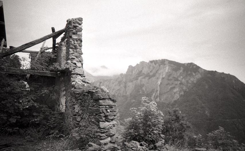 Alpine Ruins, Italy.