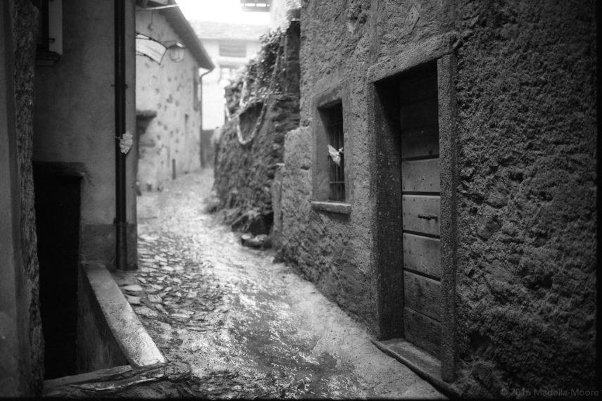 Village Street, Italy.