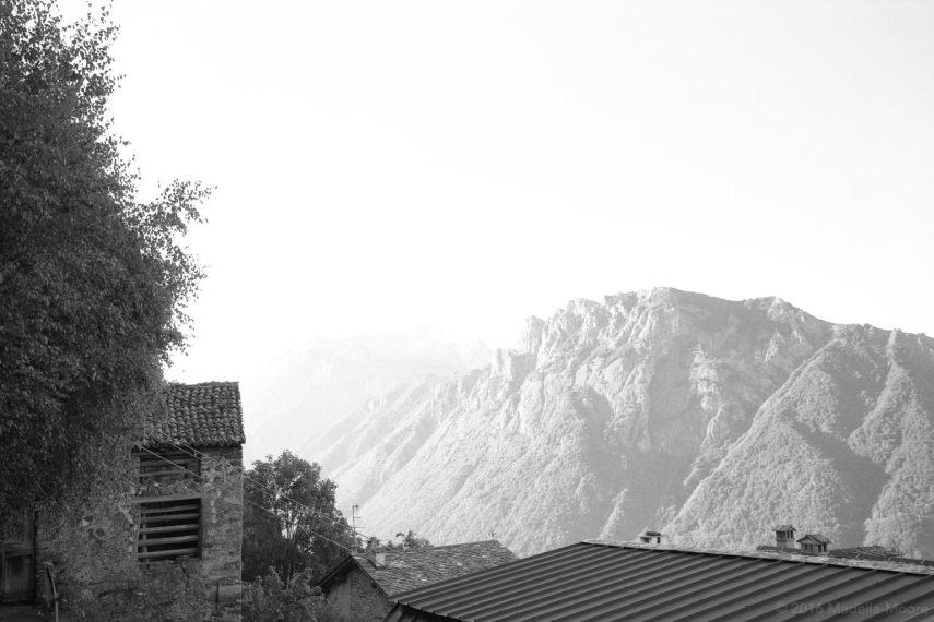 Mountain Scene, Italy.