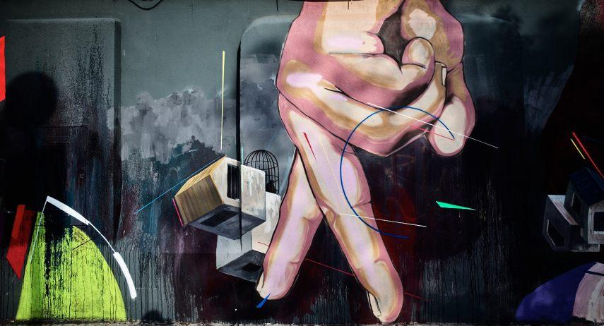Street Art, Passeig de Circumval·lació, Barcelona