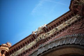 Arc de Triomf, Barcelona (Fragment)