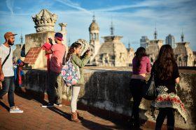 Arc de Triomf, Barcelona - Visitors