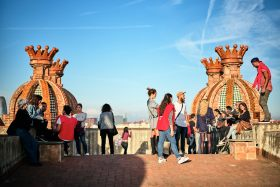 Arc de Triomf, Barcelona - Visitors