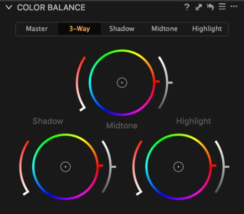 Capture One's Colour Balance Controls