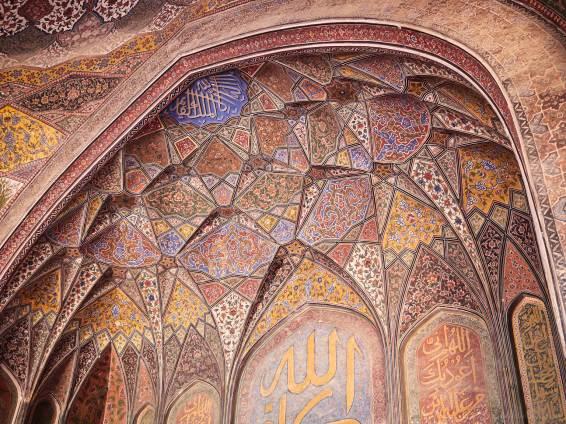 Wazir Khan Mosque, Lahore, Pakistan.