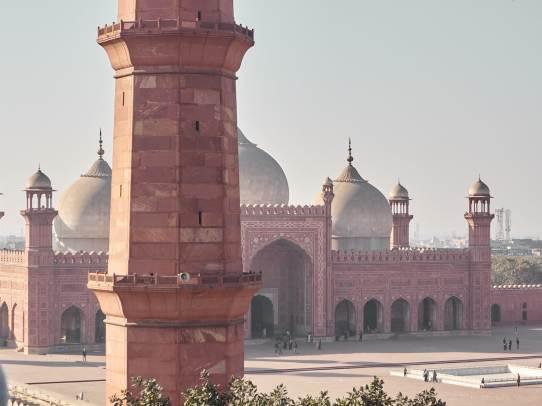 Badshahi Mosque, Lahore, Pakistan.