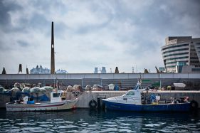 Fishing boats, Port Vell, Barcelona.