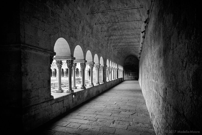 Cloisters at the Monestir de Sant Cugat