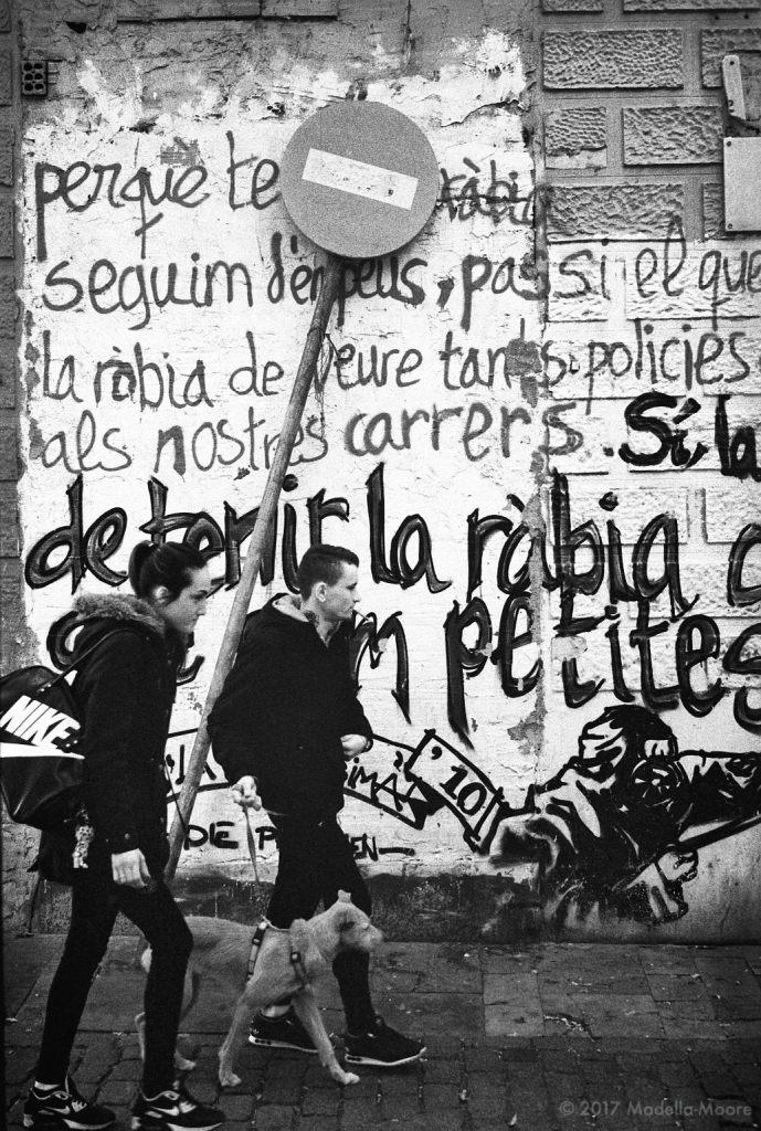 Street scene, Sant Andreu, Barcelona