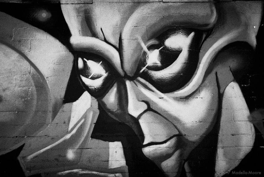 Alien Street Art, Barcelona.