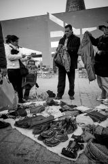 The Illegal Market at Glories, Barcelona