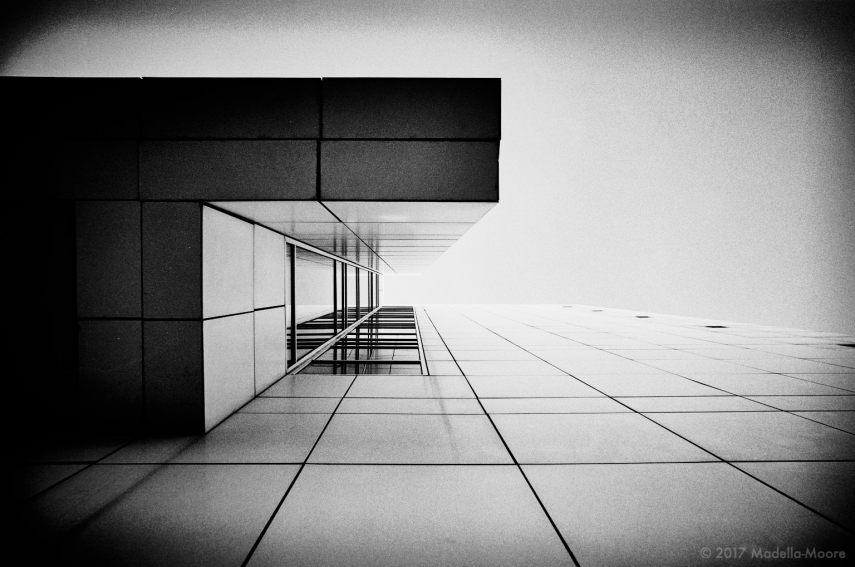 MACBA Architectural Abstract, Barcelona