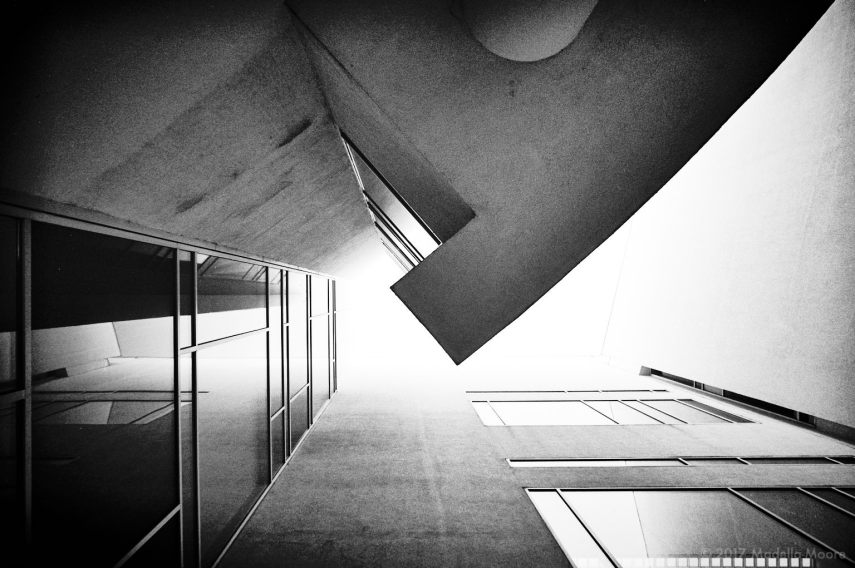 MACBA Architectural Abstract, Barcelona