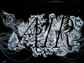 Barcelona Street Art - Carrer de la Selva de Mar con Perú