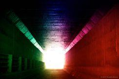 Tunnel under the C31 motorway, Vilasser de Dalt.
