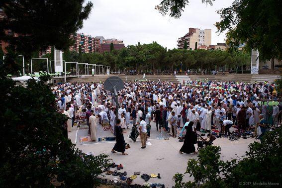 Eid al-Fitr, El Clot, Barcelona.