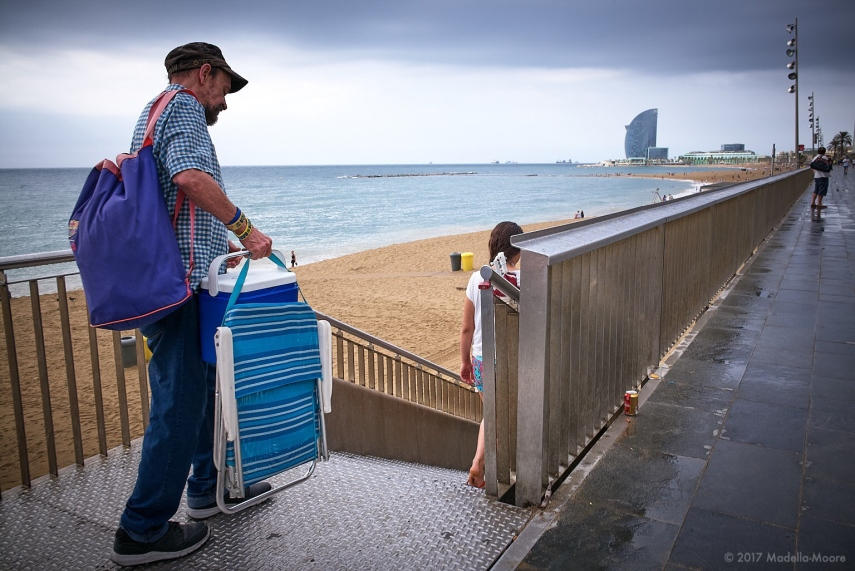 Rain is never a deterrent in Barcelona. Leica M typ 262 with 28mm f2 Summicron ASPH II.