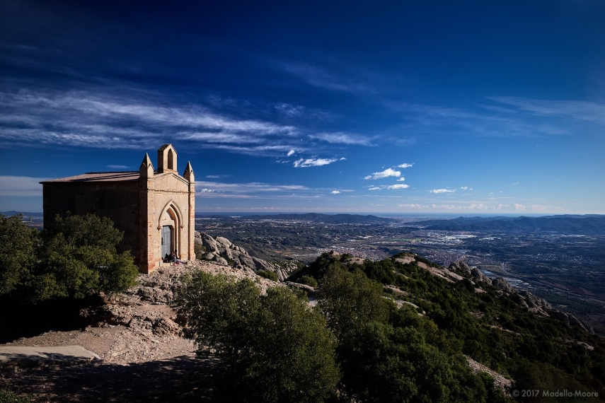 View from Montserrat. Leica M typ 262 with 21mm f3.4 Super Elmar.