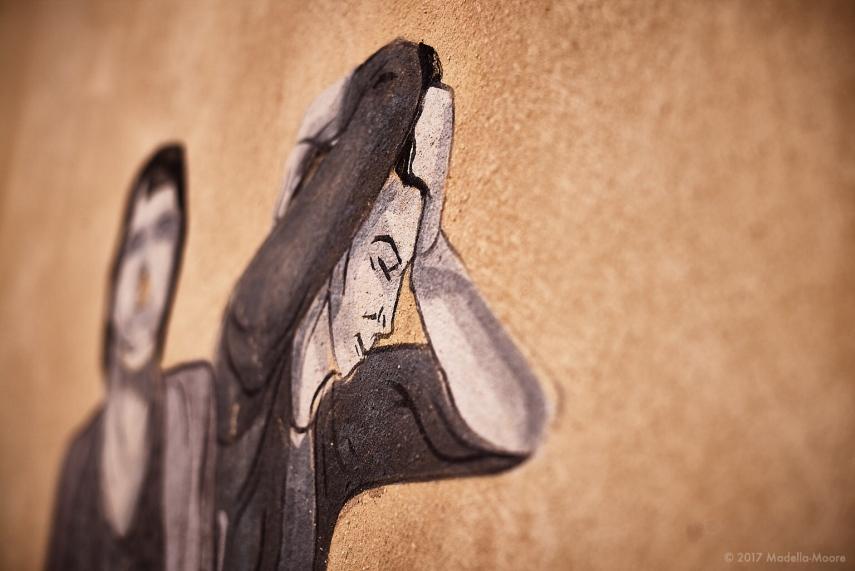 Street Art, Perpignan. Leica M typ 262 with 50mm f1.4 Summilux ASPH.