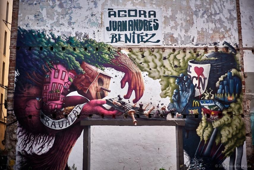 Street art, Barcelona.